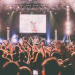 Concert pendant le MIDEM Festival à Cannes.