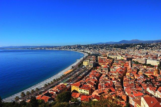 Vue de la ville de Nice.